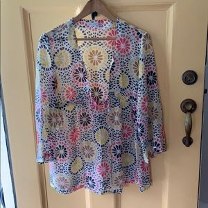 Diane von Furstenberg swim cover up - size M